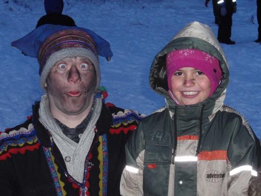 laponia Salla papa Noel en Laponia
