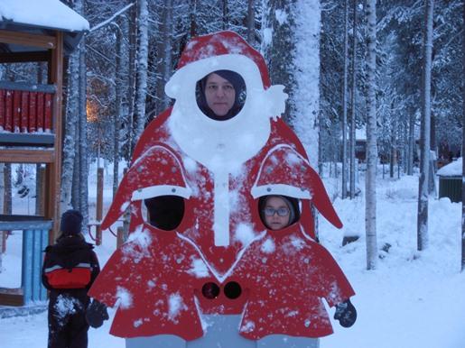 Papa Noel en Laponia Viajacontuhijo Catai Tours Laponia